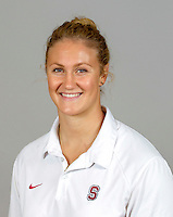 Ashley Grossman, with the Stanford Women's Water PoloTeam Photo taken on Wednesday, September 25, 2013.