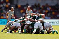 5th June 2021; Brentford Community Stadium, London, England; Gallagher Premiership Rugby, London Irish versus Wasps; Wasps and London Irish players set for the scrum