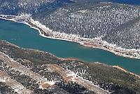 4415 / Navajo Lake: AMERIKA, VEREINIGTE STAATEN VON AMERIKA, UTAH,  (AMERICA, UNITED STATES OF AMERICA), 18.05.2006: Navajo Lake auf dem  Markagunt Plateaus zwischen Cedar Breaks und Bryce Canyon..