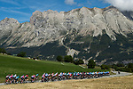 The peloton during Stage 4 of Tour de France 2020, running 160.5km from Sisteron to Orcieres-Merlette, France. 1st September 2020.<br /> Picture: ASO/Pauline Ballet | Cyclefile<br /> All photos usage must carry mandatory copyright credit (© Cyclefile | ASO/Pauline Ballet)