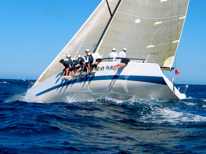 Inner Circle Rum Farr 40 regatta in Pittwater, Sydney..The FARR ® 40 One Design was conceived as a high performance 40 footer that would gather the benefits of modern materials into an economic platform for short course racing that was demanding, exciting and not beyond the capabilities of relatively inexperienced and mature crew members.Inner Circle Rum Farr 40 regatta in Pittwater, Sydney..The FARR ® 40 One Design was conceived as a high performance 40 footer that would gather the benefits of modern materials into an economic platform for short course racing that was demanding, exciting and not beyond the capabilities of relatively inexperienced and mature crew members.