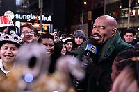 NEW YORK CITY - DECEMBER 31: Host Steve Harvey appears on FOX'S NEW YEAR'S EVE WITH STEVE HARVEY: LIVE FROM TIMES SQUARE on December 31, 2019 in New York City. (Photo by Anthony Behar/Fox/PictureGroup)