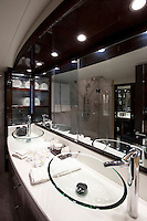 luxury boat bathroom<br />