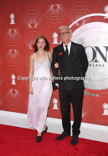 Annabel Clare Daldry and Stephen Daldry attend the 74th Tony Awards-Broadway's Back! arrivals at the Winter Garden Theatre in New York, NY, on September 26, 2021. (Photo by Udo Salters/Sipa USA)