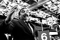 FILE PHOTO -  <br />  John Harney<br /> Congres du Nouveau Parti Democratique du Canada, le 15 mars 1987.<br /> <br /> <br /> Photo  :  Denis Alix - Agence Quebec Presse