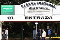Campinas (SP), 24/04/2021 - Plano SP - Reabertura do Parque Portugal (Lagoa do Taquaral) em Campinas, interior de São Paulo, neste sábado (24). A cidade avança hoje para a segunda etapa da fase de transição do Plano São Paulo, de controle da pandemia do coronavírus e retomada econômica. A partir deste sábado estão autorizados o funcionamento de estabelecimentos do setor de serviços, como restaurantes e similares (lanchonetes, casas de sucos e bares com função de restaurante), salões de beleza e barbearias, além de atividades culturais, parques, clubes e academias.