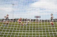 SAN ANTONIO, TX - OCTOBER 4, 2015: The Western Kentucky University Hilltoppers defeat the University of Texas at San Antonio Roadrunners 1-0 at the UTSA Park West Athletics Complex. (Photo by Jeff Huehn)