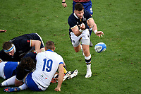 Ali Price of Scotland clears during the rugby Autumn Nations Cup's match between Italy and Scotland at Stadio Artemio Franchi on November 14, 2020 in Florence, Italy. Photo Andrea Staccioli / Insidefoto <br /> <br /> xxx