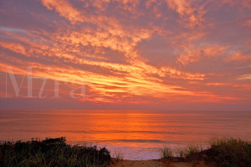 Sunrise, Cape Cod National seashore, Eastham, Cape Cod, MA,