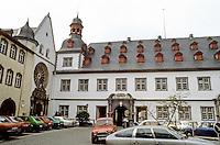 Koblenz: 17th century Jesuit College. Architect J.C. Sabastiani, 1694-1698. Now serves as Town Hall. Baroque style.