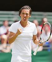 30-06-12, England, London, Tennis , Wimbledon, Francesca Schiavone