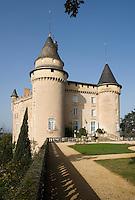 Europe/ France/ Midi-Pyrénées/ 46/Lot/ Mercues:  le Château