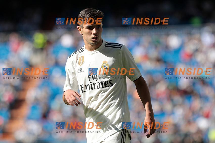 Real Madrid's Brahim Diaz during La Liga match between Real Madrid and Villarreal CF at Santiago Bernabeu Stadium in Madrid, Spain. May 05, 2019. (ALTERPHOTOS/A. Perez Meca)<br /> Liga Campionato Spagna 2018/2019<br /> Foto Alterphotos / Insidefoto <br /> ITALY ONLY