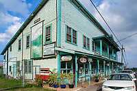 town of Hawi, the most northern town, North Kohala, Big Island, Hawaii, USA