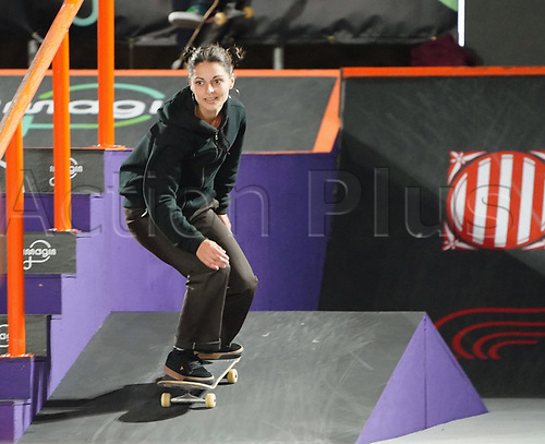6th November 2020; Parc del Forum, Barcelona, Catalonia, Spain; Imagin Extreme Barcelona;  Camila Ruiz (ARG) during the womens street final