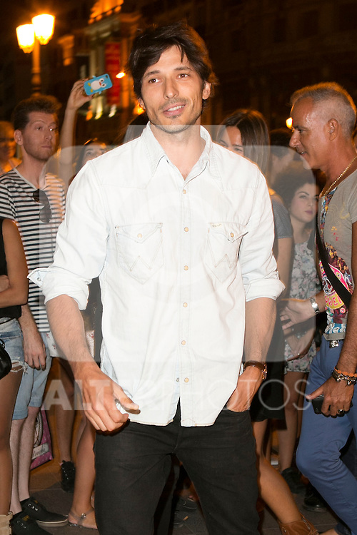 Andres Velencoso attends the party of Nike and Roberto Tisci at the Casino in Madrid, Spain. September 15, 2014. (ALTERPHOTOS/Carlos Dafonte)