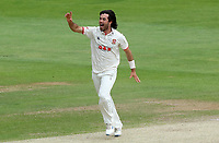 Shane Snater of Essex celebrates taking the wicket of Ben Duckett during Essex CCC vs Nottinghamshire CCC, LV Insurance County Championship Group 1 Cricket at The Cloudfm County Ground on 6th June 2021