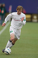 New England Revolution's Steve Ralston. The New England Revolution played the NY/NJ MetroStars to a 1 to 1 tie at Giant's Stadium, East Rutherford, NJ, on April 25, 2004.