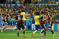 Thomas Muller of Germany scores a goal to make it 0-1