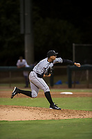AZL White Sox relief pitcher Luke Shilling (34) follows through on his delivery during an Arizona League game against the AZL Dodgers at Camelback Ranch on July 7, 2018 in Glendale, Arizona. The AZL Dodgers defeated the AZL White Sox by a score of 10-5. (Zachary Lucy/Four Seam Images)