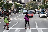 Campinas (SP), 22/03/2021 - Covid-SP - Movimentação na região central de Campinas, interior de São Paulo, nesta segunda-feira (22). A cidade de Campinas bateu, em menos de cinco dias, um novo recorde de mortes por covid-19 anunciadas no boletim epidemiológico divulgado diariamente pela Prefeitura. Segundo a secretaria de Saúde, 38 pessoas perderam a vida para a doença, sendo que a vítima mais nova era uma mulher de 35 anos.