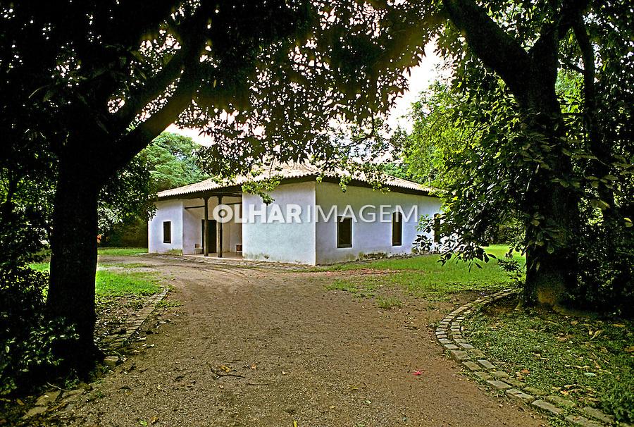 Casa do Bandeirante no Butantã, São Paulo. 1996. Foto de Juca Martins.