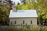 The Methodist Church in Cades Cove, Great Smoky Mountains National Park, TN, USA