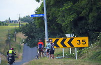 Fans. Stage One - Lost Lake Loop (Cambridge - Kaipaki - Roto O Rangi - Leamington). 2019 Grassroots Trust NZ Cycle Classic UCI 2.2 Tour from St Peter's School in Cambridge, New Zealand on Wednesday, 23 January 2019. Photo: Dave Lintott / lintottphoto.co.nz