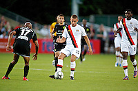 Manchester City's Scott Kay during a match at Merlo Field in Portland Oregon on July 17, 2010.