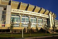 stadium, football, Cleveland, OH, Ohio, Cleveland Browns Stadium.