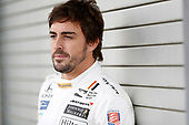 Verizon IndyCar Series<br /> Fernando Alonso Test for Indianapolis 500<br /> Indianapolis Motor Speedway, Indianapolis, IN USA<br /> Tuesday 2 May 2017<br /> Fernando Alonso contemplates his Indianapolis 500 debut.<br /> World Copyright: Michael L. Levitt<br /> LAT Images