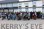 Just over 20 Kerry members of the Munster Bikers Club toured the Ring of Kerry on Sunday, pictured here at a stop at the Ring of Kerry Hotel on Sunday.