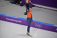 OLYMPIC GAMES: PYEONGCHANG: 14-02-2018, Gangneung Oval, Long Track, 1000m Ladies, Jorien ter Mors (NED), ©photo Martin de Jong