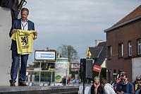 Race winner's 'Flemish Champion' jersey. <br /> <br /> 103th Kampioenschap van Vlaanderen 2018 (UCI 1.1)<br /> Koolskamp – Koolskamp (186km)