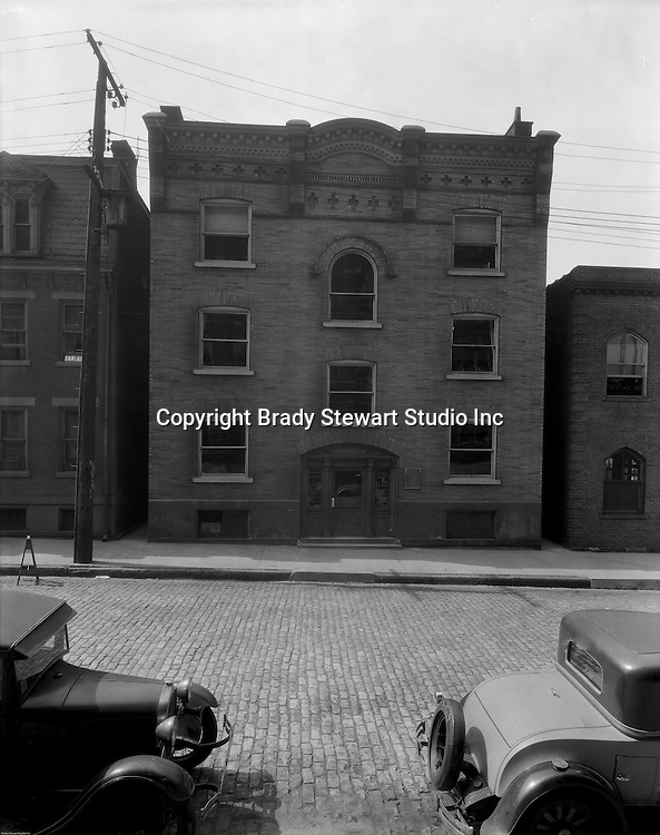Pittsburgh PA:  Building exterior of the School of Music and Library at Duquesne University.<br /> Brady Stewart was hired to photography the campus, classrooms, and offices for a publication to increase enrollment at the Catholic University.