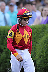 Freddie Lenclud in the paddock at Keeneland Race Course. Lexington, KY. 04.08.2011