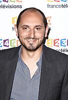 Photocall de la conference de presse de France Télévisions - Karim Rissouli