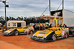 Feb 03, 2011; 5:43:59 PM; Sylvania, GA., USA; An Unsactioned Racing Event Running a 10,000 To Win During Speedweeks 2011 At Screven Motor Speedway.  Mandatory Credit: (thesportswire.net)