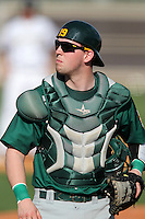 Siena Saints catcher Larry Balkwill #19 during a game against the UCF Knights at the UCF Baseball Complex on March 3, 2012 in Orlando, Florida.  UCF defeated Siena 6-4.  (Mike Janes/Four Seam Images)