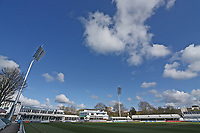 General view of blue skies over the ground ahead of Essex CCC vs Worcestershire CCC, LV Insurance County Championship Group 1 Cricket at The Cloudfm County Ground on 11th April 2021