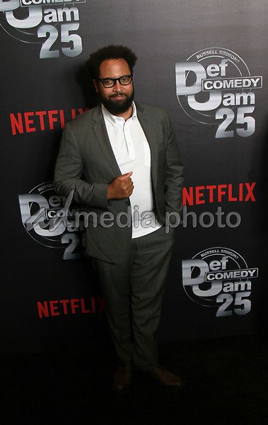 """10 September 2017 - Beverly Hills, California - Diallo Riddle. Netflix """"Def Comedy Jam 25"""" held at The Beverly Hilton. Photo Credit: Theresa Bouche/AdMedia"""