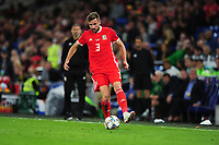 Paul Dummett of Wales during the UEFA Nations League B match between Wales and Ireland at Cardiff City Stadium in Cardiff, Wales, UK.September 6, 2018
