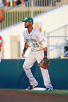 Daytona Tortugas first baseman Robert Ramirez (25) during a game against the Fort Myers Miracle on June 17, 2015 at Hammond Stadium in Fort Myers, Florida.  Fort Myers defeated Daytona 9-5.  (Mike Janes/Four Seam Images)