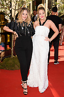 Lydia and Lucy<br /> arriving for the TWG Tea Gala Event at Leicester Square, London<br /> <br /> ©Ash Knotek  D3413  02/07/2018