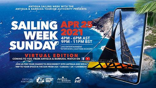 Antigua Sailing Week Goes Virtual