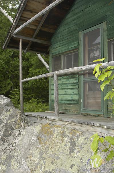 Cabin at old Camp Allagash annex.