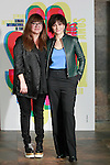 Spanish film director Isabel Coixet and French actress Juliette Binoche during the 60th Seminci. October 31,2015.(ALTERPHOTOS/Acero)