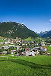 Austria, Vorarlberg, Montafon, Gaschurn: popular ski-resort at High-Montafon region | Oesterreich, Vorarlberg, Montafon, Gaschurn: bekannter Skiort im Hoch-Montafon und flaechengroesste Gemeinde Vorarlbergs