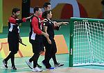 Rio 2016 - Goalball.<br /> Team Canada plays Brazil in the men's goalball // Équipe Canada affronte le Brésil au goalball masculin. 09/09/2016.