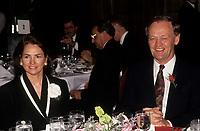 Aline et Jean Chretien, Mai 1993 (date exacte inconnue)<br /> <br /> Mme Chretien est dececee en septembre 2020.<br /> <br /> PHOTO : Agence Quebec Presse